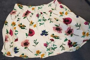 Women's Old Navy Floral Skirt